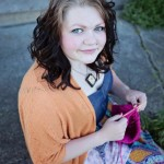 Alisa Duckworth knitting for victory against Gardasil