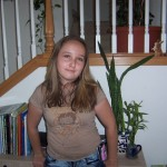 Alexis before the Gardasil vaccine