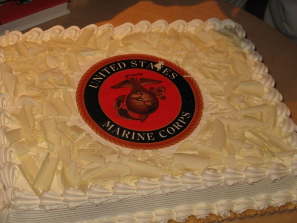 Us Marine Birthday Cake