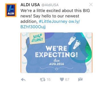 Aldi Tweet