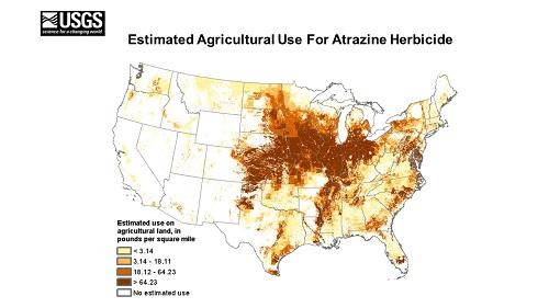 Atrazine Use in America 2015