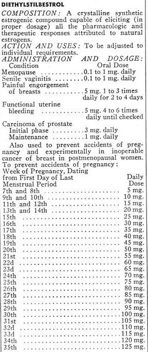 DES Dosing 1953