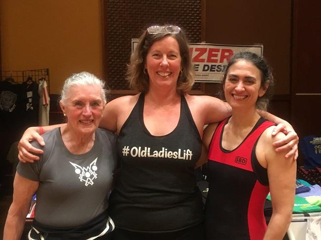 Old ladies lift