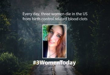 3 women die from birth control every day